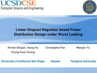 Linear Dropout Regulator based Power Distribution Design under Worst Loading