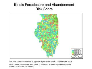Illinois Foreclosure and Abandonment  Risk Score