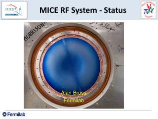 MICE RF System - Status