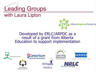 Leading Groups  with Laura Lipton