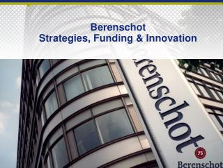 Berenschot Strategies ,  Funding  &  Innovation