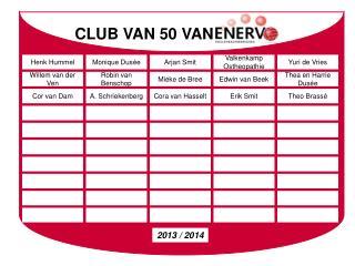 CLUB VAN 50 VAN
