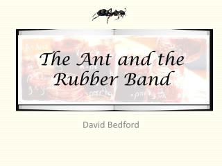 The Ant and the Rubber Band