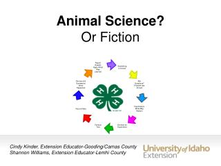 Animal Science?  Or Fiction
