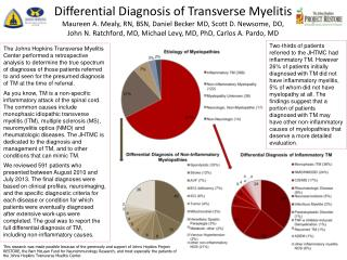 Differential Diagnosis of Transverse Myelitis Symposium
