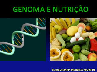 GENOMA E NUTRIÇÃO