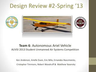 Design Review #2-Spring '13