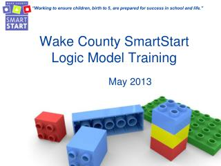 Wake County SmartStart Logic Model Training