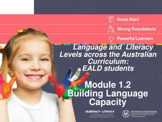 Language and  Literacy Levels across the Australian Curriculum:  EALD students   Module 1.2