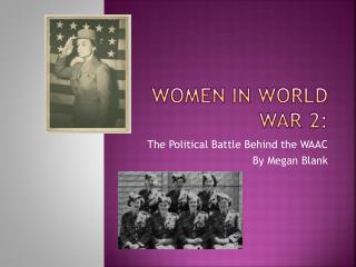 Women in World War 2:
