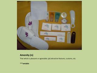 Amenity (n)