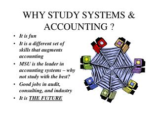 WHY STUDY SYSTEMS & ACCOUNTING ? It is fun