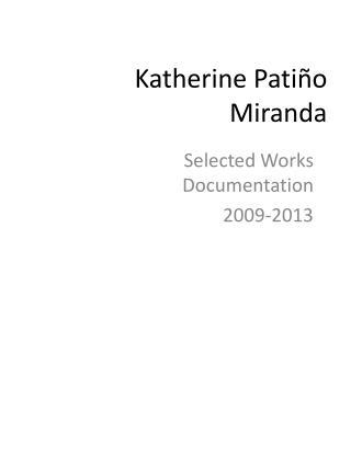 Katherine  Pati ño  Miranda