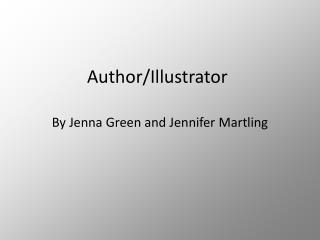 Author/Illustrator