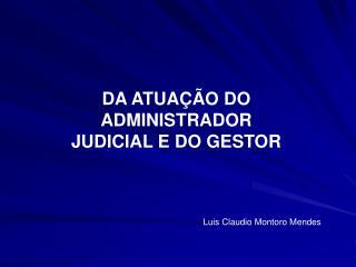 Administrador Judicial