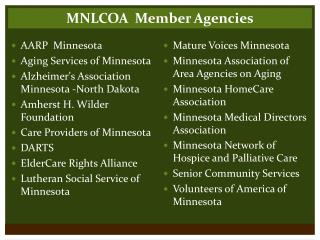 Mature Voices Minnesota Minnesota Association of Area Agencies on Aging