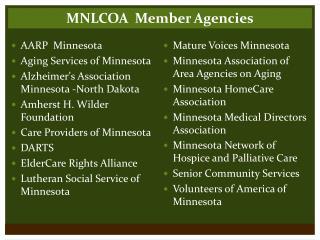 Mature Voices Minnesota Minnesota Association of Area Agencies on Aging