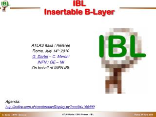 IBL Insertable  B -Layer