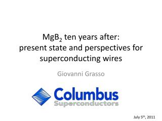 MgB 2  ten years after: present state and perspectives for superconducting wires