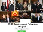 Congressional Fellowship Program CY09