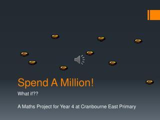 Spend A Million!