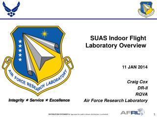 SUAS Indoor Flight Laboratory Overview