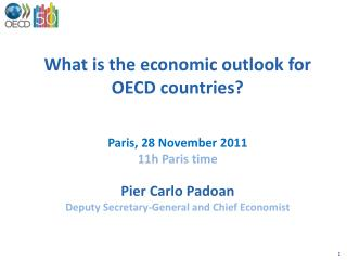 What is the economic outlook for OECD countries? Paris, 28 November 2011 11 h Paris time