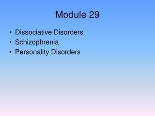Module 29