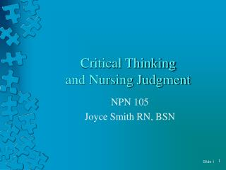 Critical thinking in nursing process Pinterest