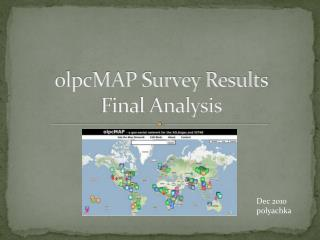 olpcMAP Survey Results Final Analysis