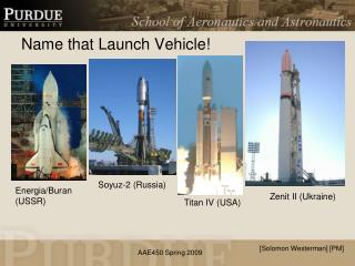 Name that Launch Vehicle!