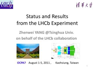 Status and Results  from the  LHCb  Experiment