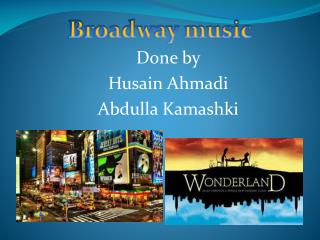 Done by Husain Ahmadi Abdulla  Kamashki
