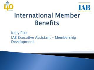 International Member Benefits