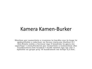 Kamera Kamen-Burker