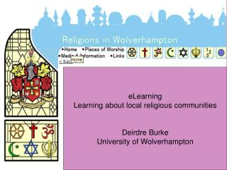 Learning about local religions