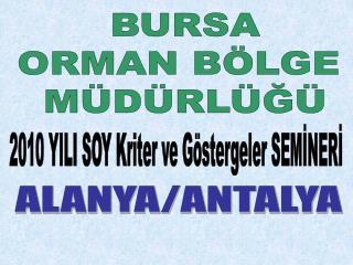 ALANYA/ANTALYA