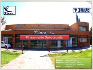 Facultad de Salud, Psicología y Rehabilitación. Carrera de kinesiología.