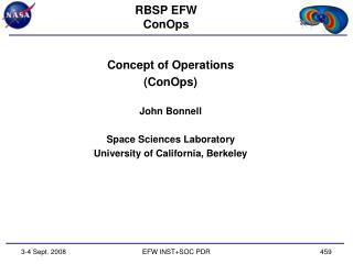 RBSP EFW ConOps