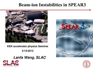 Beam-ion Instabilities in SPEAR3
