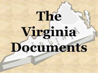The Virginia Documents