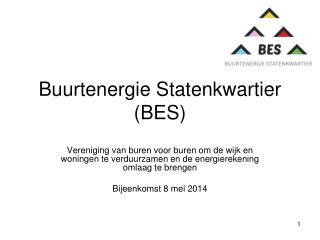 Buurtenergie Statenkwartier (BES)