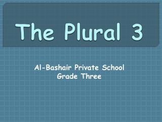 The Plural 3