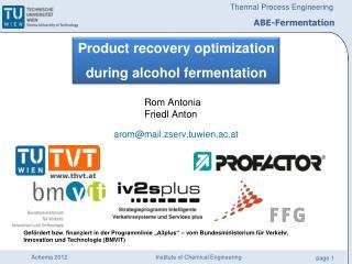 ABE-Fermentation