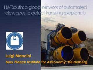 HATSouth: a global network of automated telescopes to detect transiting exoplanets