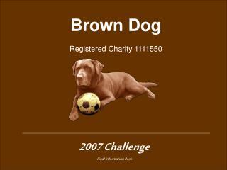 2007 Challenge Final Information Pack
