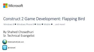 Construct  2 Game  Development: Flapping Bird