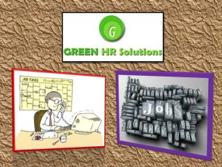 Are You Looking For Job Consultancy ? Try Green HR Solution