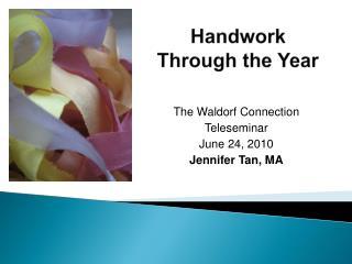 Handwork Through the Year