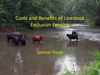 Costs and Benefits of Livestock Exclusion Fencing